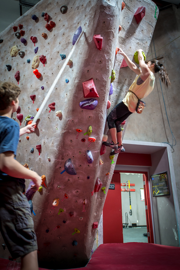 youth indoor climbing